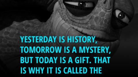 Dzisiaj, to dar!