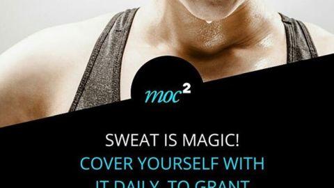 Pot, to magia! Pokrywaj się nim codziennie i patrz jak dzieją się cuda! #motywacja #cytaty #fitness