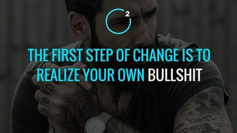 Realize your own bullshit. Tag your entrepreneurial friends here.— Follow @mightofcommitment#motivation #inspiration #quotes