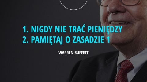 2 zasady inwestowania według W.Buffett'a