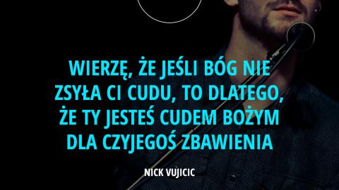 Nick Vujicic w Polsce 2015!